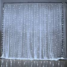 cheap 300led white wedding curtain string lights for sale on