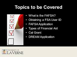 how to apply for financial aid topics to be covered what is the