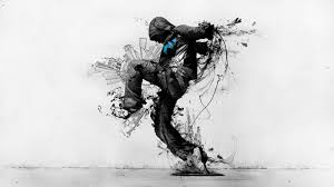 Wallpaper Abstract Urban Boy