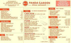 Panda Garden Menu 2 Panda Garden Menu Design Panda Garden