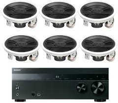 Polk Ceiling Speakers Amazon by Sony 5 2 Channel 725 Watt 4k A V Home Theater Receiver Yamaha