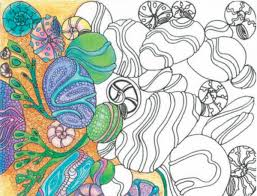 Behind The Coloring Book Craze Why Adults Are Filling In Lines