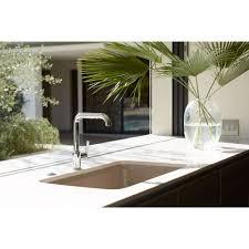 kohler k 7505 bl purist matte black pullout spray kitchen faucets