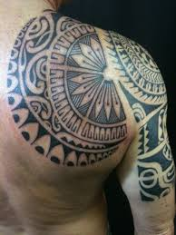 Modern Polynesian 2 Back By Alex Nardini TattooNOW