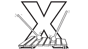 X Is For Xylophone Help Your Grandkids Practice The Alphabet With This Free Printable Coloring Page
