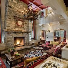 kaminfeuer und passende deko um den kamin herum