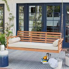 Ez Hang Chairs Fletcher Nc by Belham Living Brighton Deep Seating 65 In Porch Swing Bed With