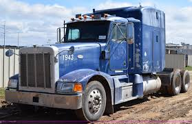 100 Stephenville Truck And Trailer 1999 Peterbilt 377 Semi Truck Item K2364 SOLD April 21