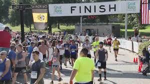 Great Pumpkin 10k 2017 by 2017 Great Race 10k Finish Line Video 40 08 51 34 Cbs Pittsburgh