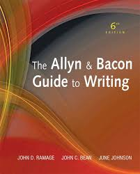Allyn Bacon Guide To Writing The 6th Edition