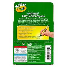 Crayola Bathtub Crayons 18 Vibrant Colors by My First Crayola Washable Triangular Crayons 16ct Target