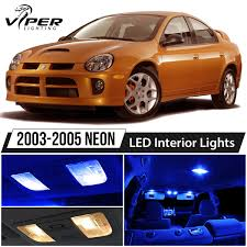 2003-2005 Dodge Neon SRT4 Blue LED Interior Lights Package Kit | EBay