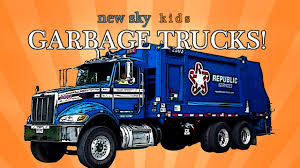 Garbage Truck Videos For Children - Garbage Trucks Crush Stuff - YouTube