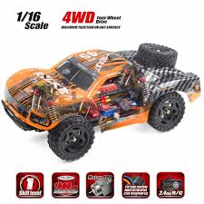 Amazon.com: Cheerwing REMO Rocket RC Truck 1:16 2.4Ghz 4WD Remote ...