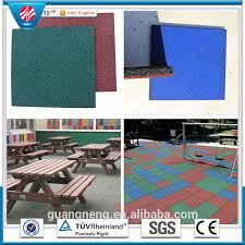 blue shadow spread adhesive rubber floors tile home