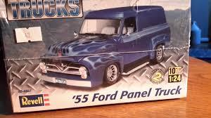 Revell Plastic Model 854337 1/24 1955 Ford Panel Truck | EBay