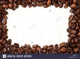 Coffee Beans Border Stock Photo 141869340