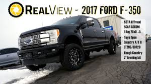 RealView - Leveled 2017 Ford F-350 W/ 20