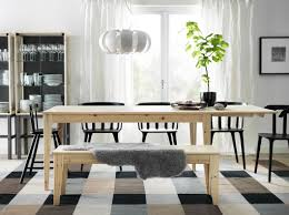Ikea Dining Room Sets by Ikea Dining Room Chairs Rectangle Black Wood Dining Table Tall