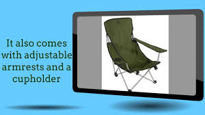 Alps Mountaineering Camp Chair by Alps Mountaineering Escape Chair Youtube