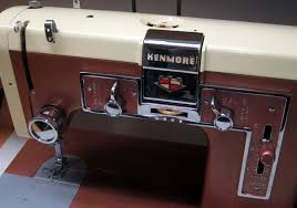 Vintage Kenmore Sewing Machine In Cabinet by Mi Vintage Sewing Machines Kenmore 117 841 1958