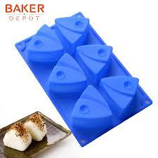 baker depot fisch kuchen backformen silikon form für seife harz 6 loch schokolade jello pudding form keks brot kuchen dekorieren