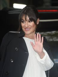 100 Studio 24 London LEA MICHELE Arrives At ITV In 042016