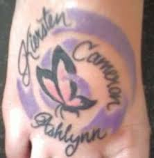 Love My Kids Tattoo