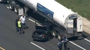 100 Tanker Truck Crash Vehicle And Tanker Truck Crash In Claymont Naamans Road Open 6abccom