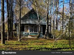 100 House In Forest Old Wooden House In Forest Stock Photo Elenstudio 190501484