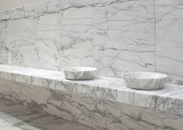luxuriöse waschtische aus carrara marmor