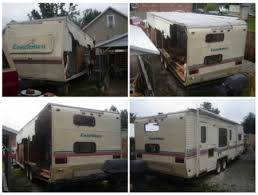 Salvaged RV Into A Tiny House