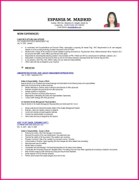 Accounting Resume For Fresh Graduates Sample Graduate Student 5 Example Of