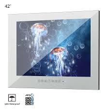 souria 42 zoll bad magie spiegel spa salon sauna wasserdichte led tv bad werbung display