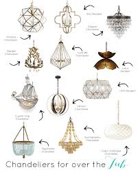 6th street design the best light fixtures to hang over a