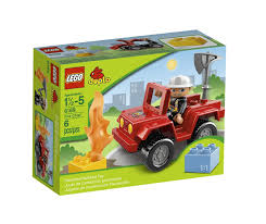 Amazon.com : LEGO DUPLO Ville Fire Chief 6169 : Building And ...
