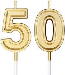 50 geburtstag kerzen kuchen zahl kerzen happy birthday kuchen kerzen topper dekoration für geburtstag hochzeit jahrestag feier lieferungen gold