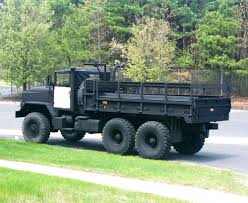 100 7 Ton Military Truck Old Bridge Police Department 5 MILSPRAY