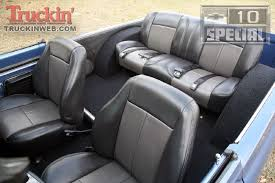 Love the interior but want headrest on front seats