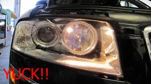 halogen parking light to led pic intensive audiworld forums