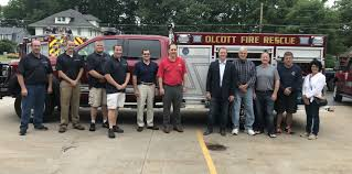 100 Help Truck Olcott Fire Company Adds New To Inventory Thanks To Senators