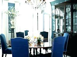 Navy Blue Dining Room Chairs Royal Decoration