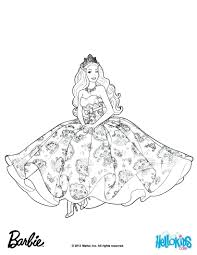 Barbie Princess Coloring Pages Mermaid Printable Colouring Ballerina Free Charm School Full Size