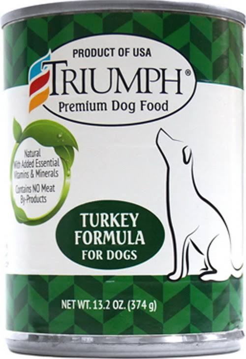 Sunshine Mills Triumph Dog Food - Canned Turkey, 14oz