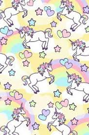 Unicorn Rainbow Pattern Find More Kawaii Android Iphone The Emoji Unicornio Wallpaper