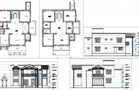 House Plan Drawing Autocad House Drawing 2d What Home