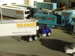 100 Werner Trucks For Sale HO Scale Tonkin Freightliner Cascadia W53 Trailer