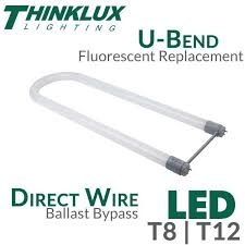 u bent led t8 t12 light ballast bypass direct wire earthled