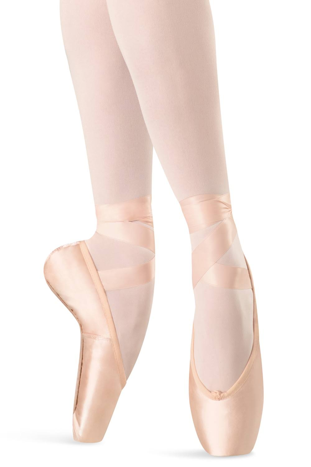 Bloch Hannah S0109L Pointe Shoes, Pink, Size 2X, 5.5