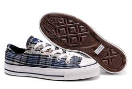 converse all plaid converse vans on sale converse all low top navy plaid canvas